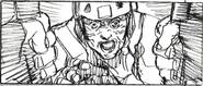 Resident Evil 6 storyboard - Fallen Hero 22