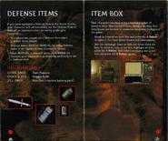 Resident Evil Instruction Booklet 8