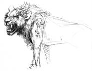 Zombie Lion concept art 1