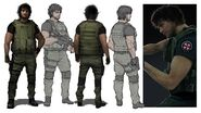 Carlos RE3remake artwork