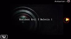 Resident Evil 2 Boletín 1