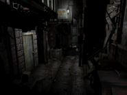 Resident Evil 3 background - Uptown - boulevard a2 - R11E01