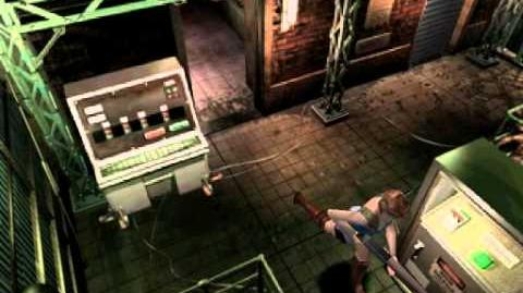 Resident Evil 3 Nemesis cutscenes - Zombies invading the Substation (Increase electricity output)