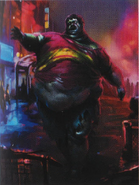 Resident Evil 6 Art Book - Whopper 2 art