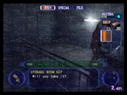 Resident Evil Outbreak items - Storage Room Key 01