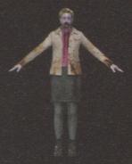 Degeneration Zombie body model 17