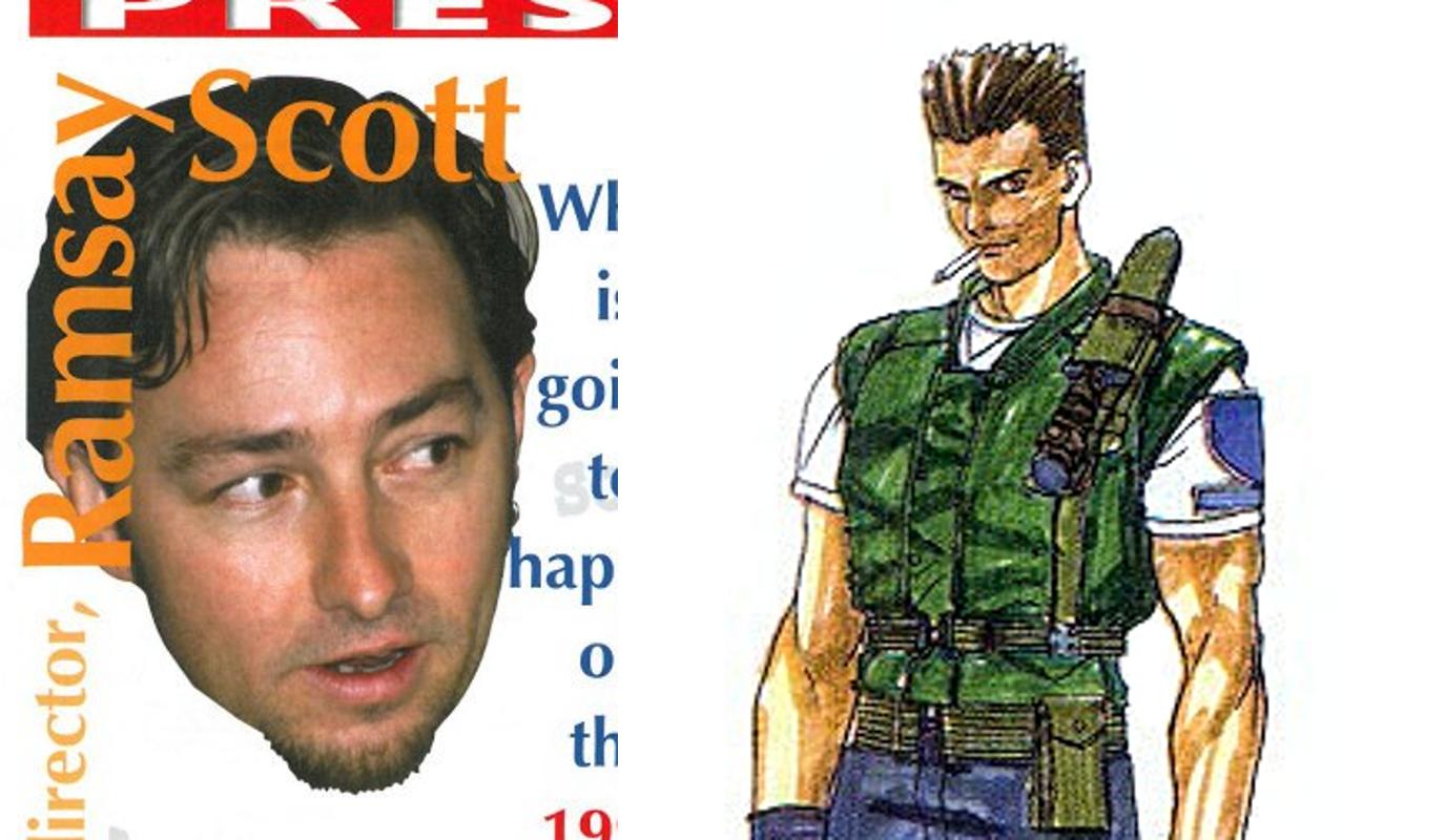 Scott Mcculloch Resident Evil Wiki Fandom