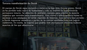 Tercera transfroamción de Derek