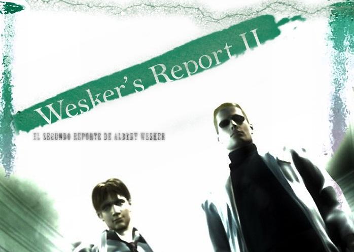 resident evil wesker s report