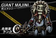 BIOHAZARD Clan Master - Battle art - Giant Majini