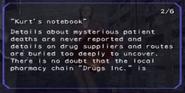 Kurt's notebook page 2