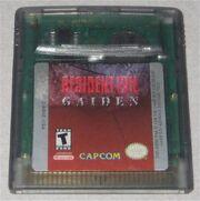 Resident Evil Gaiden cartridge