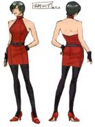 Ada casual outfit BIO4 concept art