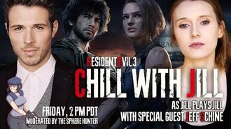 Chill with Jill as Jill plays Carlos with Carlos - RE3 Actors Play RESIDENT EVIL 3 PART 4