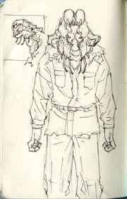 Glava-Sluz Concept Art