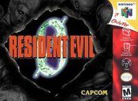 Resident Evil 0 N64 cover