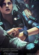 BIOHAZARD REVELATIONS UNVEILED EDITION X US AGENCY WATCH