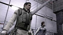 Chris e Jill investigam a base na Russia