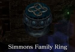 Simmons Family Ring
