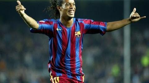 FC Barcelona - Barça Legends Ronaldinho (1st half)