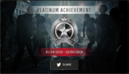 RE2 remake Weekly Challenge platinum medal complete