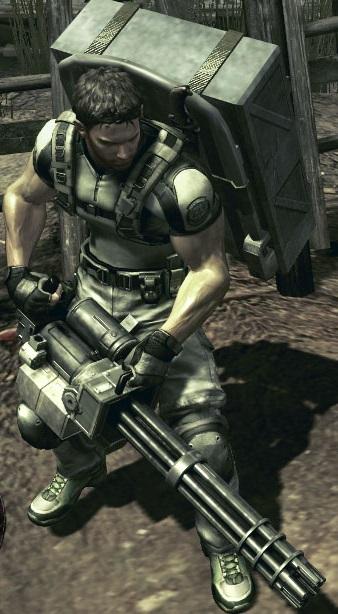 Gatling Gun (RE5) | Resident Evil Wiki | FANDOM powered by Wikia