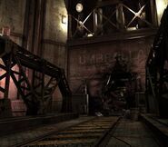 Arklay factory - Laboratory passage background 16