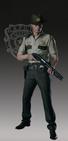 RE2 remake Leon Arklay Sheriff