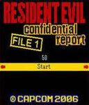 Resident Evil Confidential Report