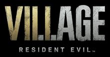 Resident Evil 8 Village english logo