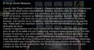 El fin de Derek Simmons
