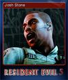 Resident Evil 5 Biohazard 5 Card 6