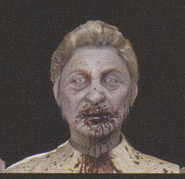 Degeneration Zombie face model 52