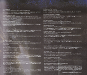 BIOHAZARD 6 ORIGINAL SOUNDTRACK booklet - page 16