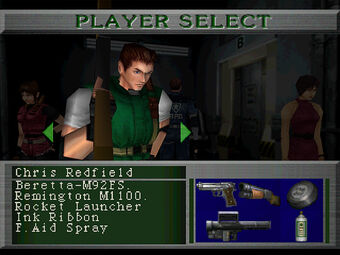 claire redfield resident evil 2 ps1