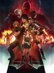 Resident evil 20th anniversary clean poster big by 972otev d9x2wrp