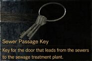Sewer Passage Key description