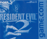Tiger Resident Evil 2 - Manual front cover