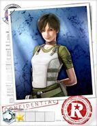 Rebecca Chambers BIOHAZARD Team Survivor RE0