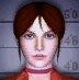 Resident Evil CODE Veronica Battle Game - Claire Redfield mugshot 1