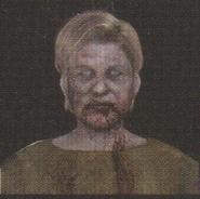 Degeneration Zombie face model 11