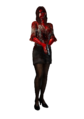 RER2 Bloodied Gina Costume
