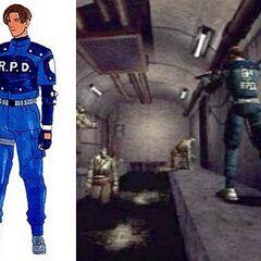 Концепт-арт (Resident Evil 1.5)