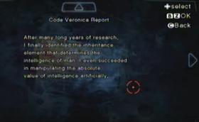 Informe sobre el código Veronica
