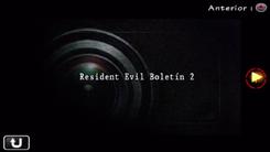 Resident Evil Boletín 2