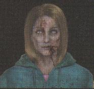 Degeneration Zombie face model 19