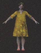 Degeneration Zombie body model 14