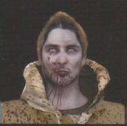 Degeneration Zombie face model 37