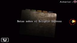 Notas sobre el Ecliptic Express
