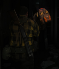 RE2 Remake Backpack Zombie